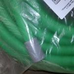 Шланг для полива гофрированный с наконечником, 25м. (зеленый)